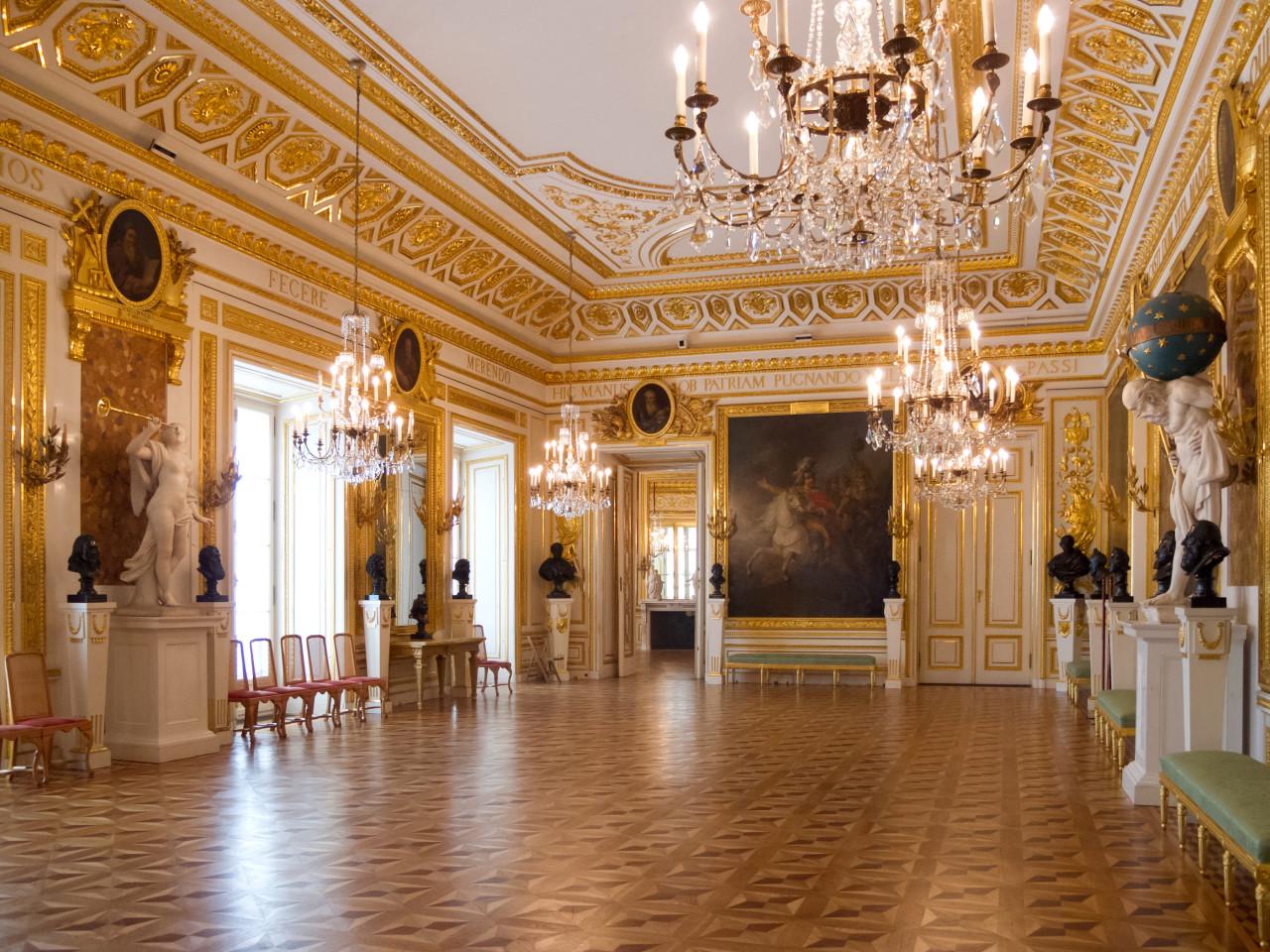 Sala Rycerska w Zamku Królewskim, fot. Carlos Delgado (Wikimedia Commons)