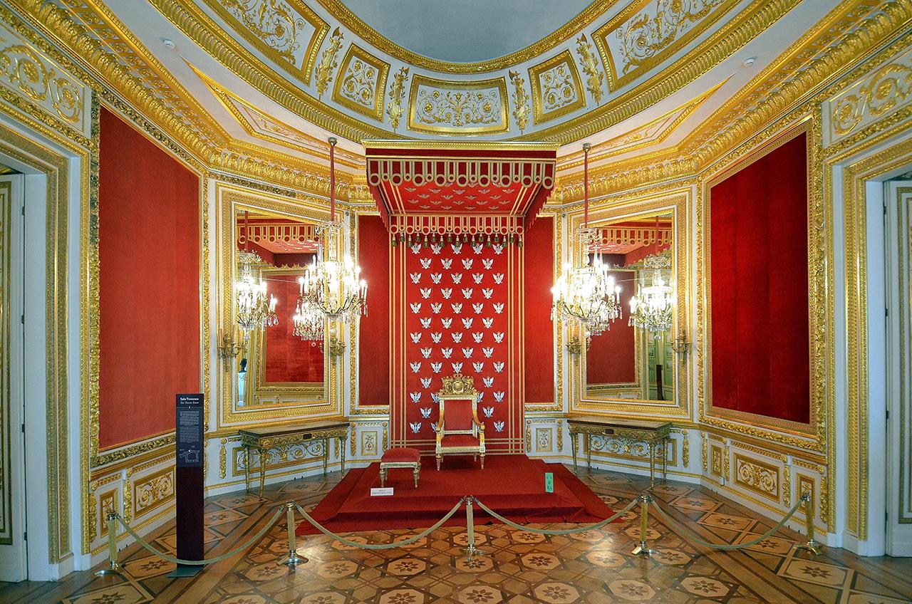 Sala Tronowa na Zamku Królewskim w Warszawie, fot. Adrian Grycuk (Wikimedia Commons)