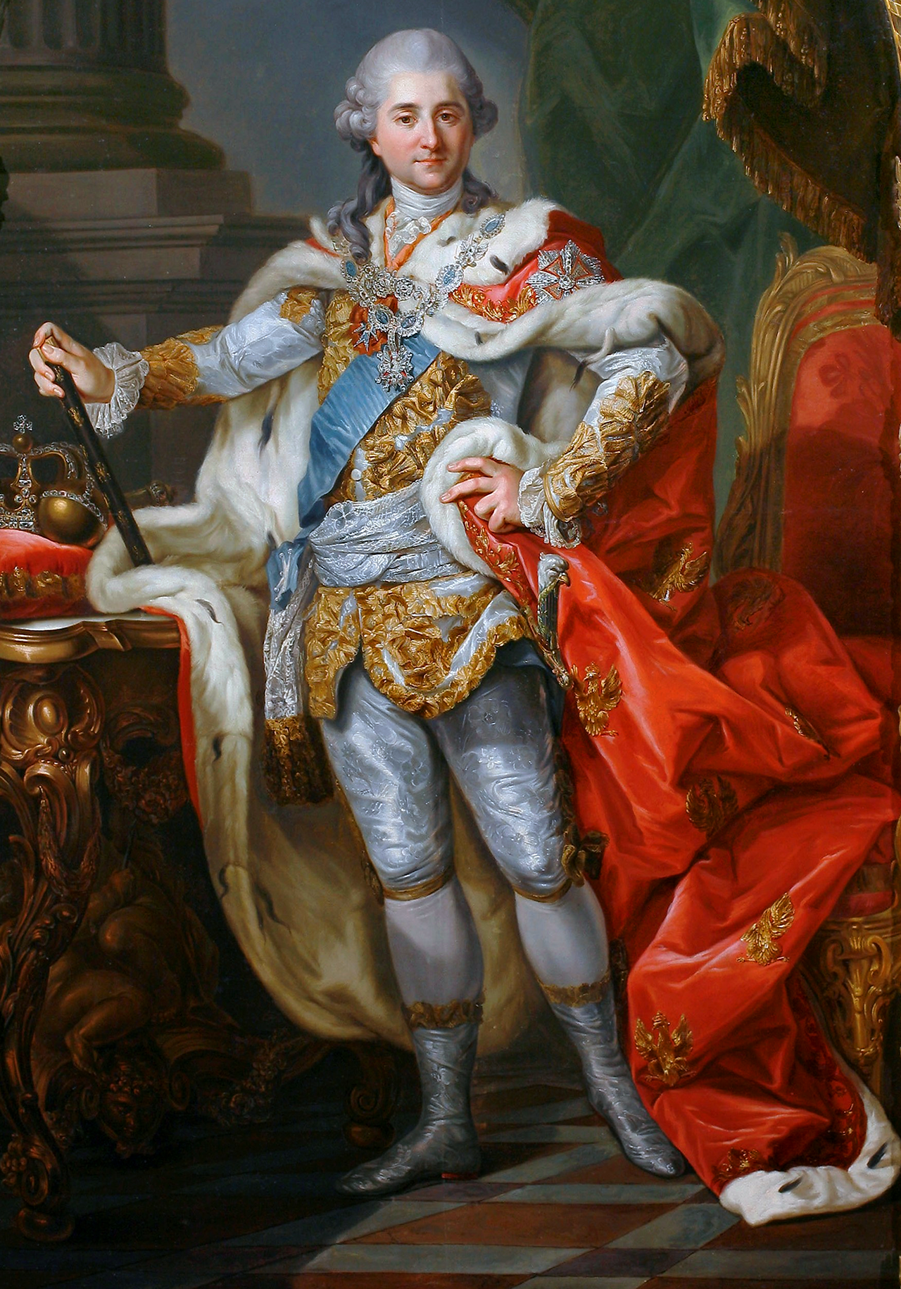may Stanisław_II_August_Poniatowski_in_coronation_clothes